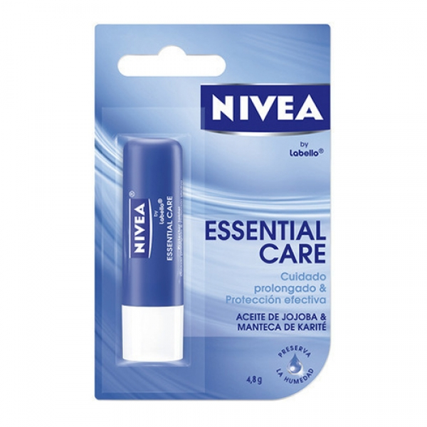 Labial Nivea Essential Care 4.8g