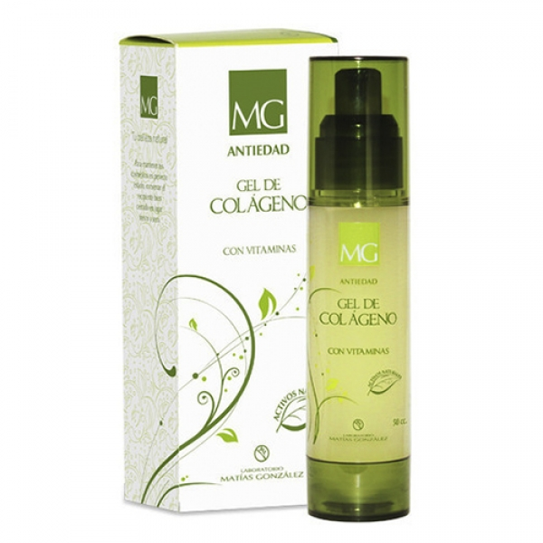 Gel MG con Colágeno Antiedad 30 ML