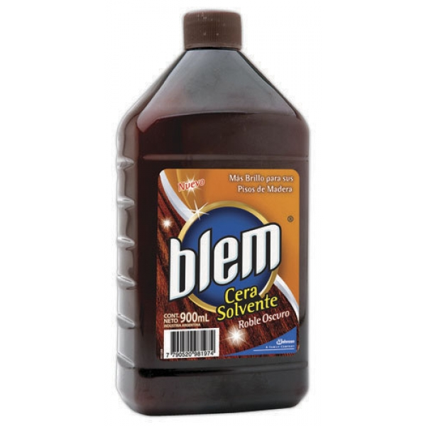 Blem Cera Madera Roble Oscuro 900ml