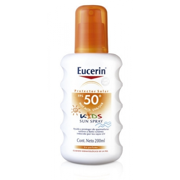 Protector Solar Eucerin Kids Spray FPS50 200 ML
