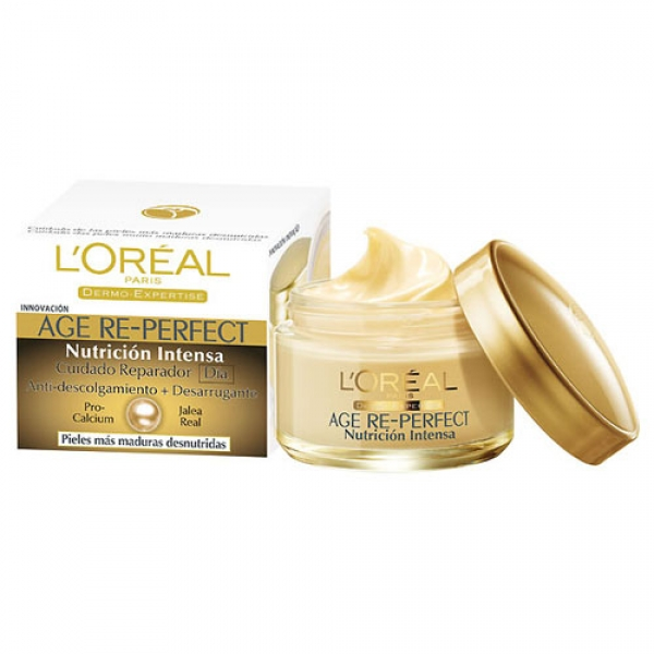 Crema Loréal Age Re-Perfect Nutrición Intensa 50ml