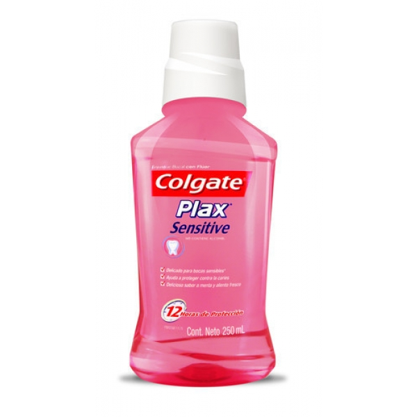 Enjuague Bucal Colgate Plax Sensitive 250ml