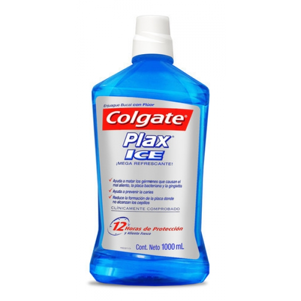 Enjuague Bucal Colgate Plax Ice 1L