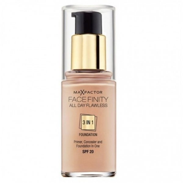Base Max Factor Facefinity 3en1 Bronze N°80