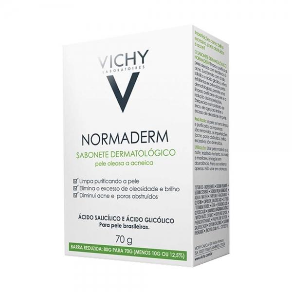 Jabón Vichy Normaderm Sabonete 70 Gr