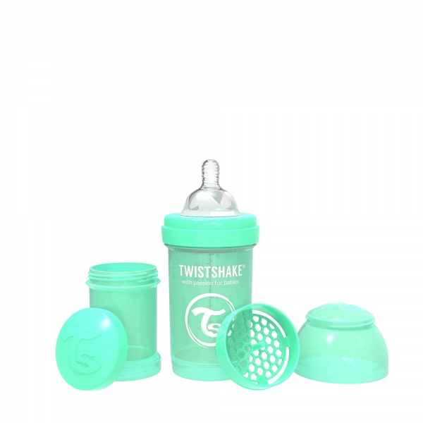 Mamadera Twistshake Anti-Colic 180ML Verde