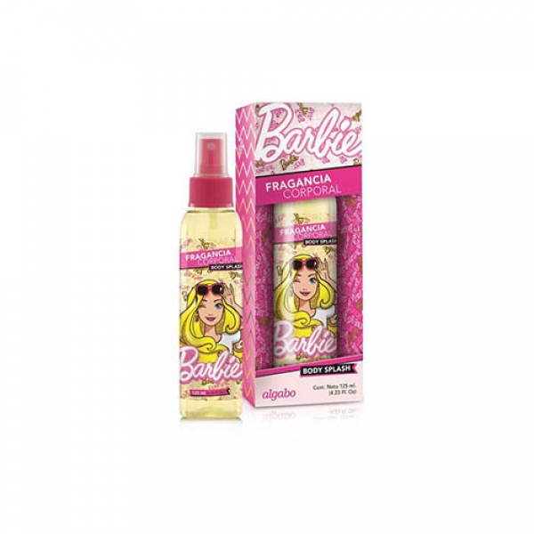 Perfume Barbie Body Splash Rosa 125ml