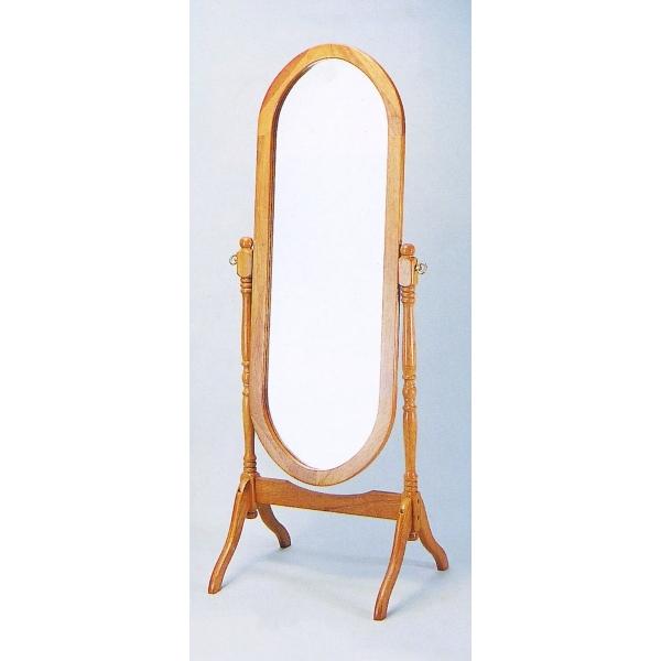 Espejo de Pie Ovalado Natural