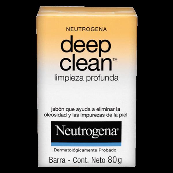 Jabón Neutrógena Deep Clean 80 G