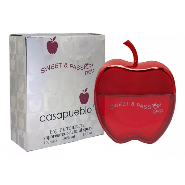 Perfume Casa Pueblo Sweet&Passión Red 100ML