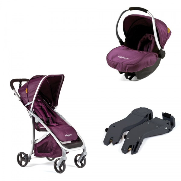 Travel System BabyHome Emotion Púrpura
