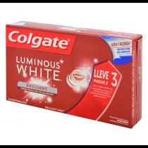 Pasta de Dientes Colgate Luminous Whitening 70G 3x2