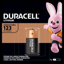 Pila Duracell Lithium DL 123/3V x1