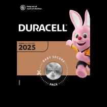 Pila Duracell Lithium DL 2025/3V x1