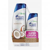 Shampoo H&S Hidratación Coco 375ML + Shampoo 180ML