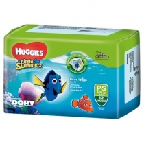 Huggies Little Swimmers P (6 a 9.5 Kg) - x12