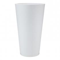 Maceta Genebra Graphito Blanca 40x80cm