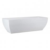Maceta Amsterda Graphito Blanca 95x27cm