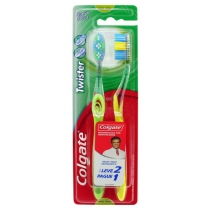 Cepillo Dental Colgate Twister x2