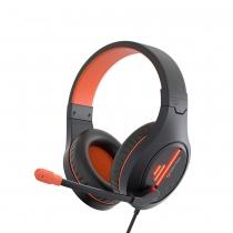 Auriculares Gaming Meetion MT-HP021 Blanco/Naranja