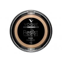 Polvo Compacto Vogue Larga Duración Bronce