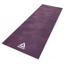 Colchoneta Yoga Reebok Mat Reversible 4mm Violeta Geometric