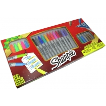 Set Marcadores Permanentes Sharpie x23