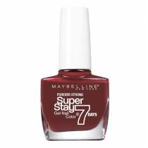 Esmalte Maybelline Efecto Gel Super Stay 7 Days Midnight Red 10ML