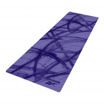 Colchoneta Yoga Reebok Mat 4mm Azul Camuflada