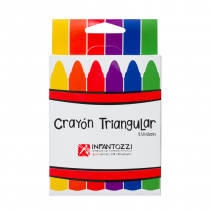 Crayola Infantozzi Triangular 6 Colores