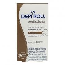Bandas Depilatorias Faciales Depi Roll 8 unidades