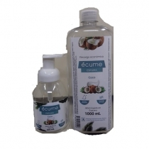 Jabón Líquido Ecume de Espuma Coco 1L + 300ML