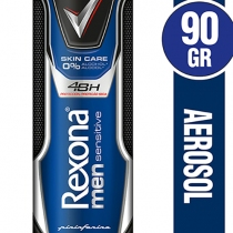 Antitranspirante Rexona Sinsitive Aerosol de Hombre 90ml