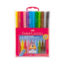 Marcadores Faber Castell 31256 Grip x12