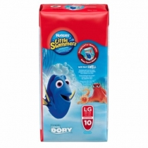 Huggies Little Swimmers G (+15 Kg) - x10