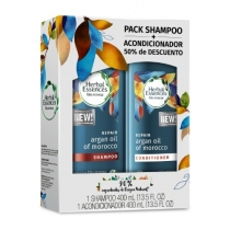 Shampoo Herbal Essences Argan 400ML + Acondicionador 400ML