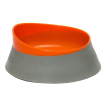Comedero Can Mediano Naranja