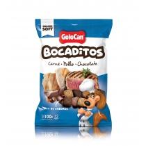 Bocaditos Golocan Carne, Pollo y Chocolate 100GR