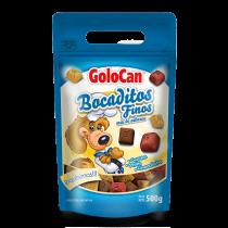 Bocaditos Golocan Carne, Pollo y Chocolate 500GR