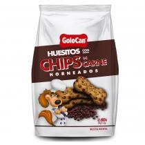 Huesitos Golocan con Chips de Carne 400GR
