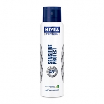 Desodorante Nivea Sensitive For-Men Aerosol 150ml