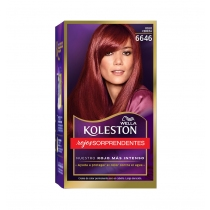Tinta Koleston Kit 6646 Rojo Cereza