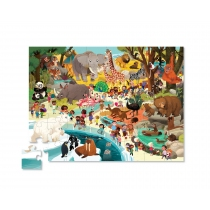 Puzzle Crocodile Creek 36 Piezas Zoo