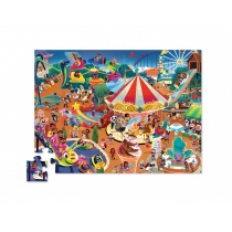 Puzzle Crocodile Creek 48 Piezas Parque Diversiones