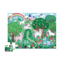 Puzzle Crocodile Creek 36 Piezas Unicornio
