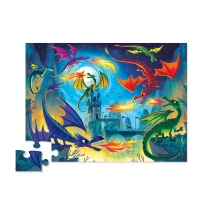 Puzzle Crocodile Creek 36 Piezas Dragones