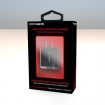 Cargador Irago USB Doble