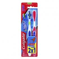 Cepillo Dental Colgate 360° Original Medio x2