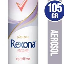 Antitranspirante Rexona Nutritive Aerosol de Mujer 90ml