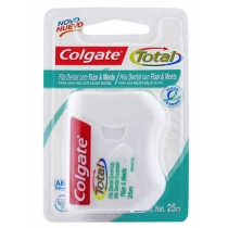 Hilo Dental Colgate Total 12 Fluor&Menta 25m